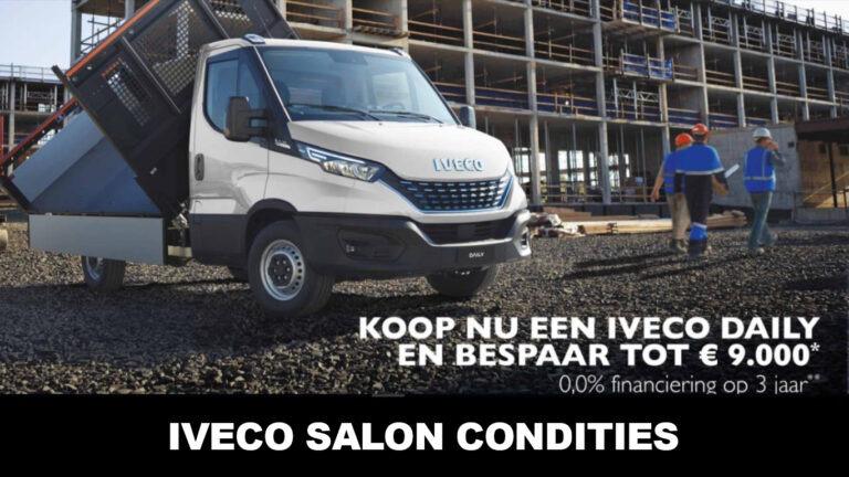 Iveco salon Condities